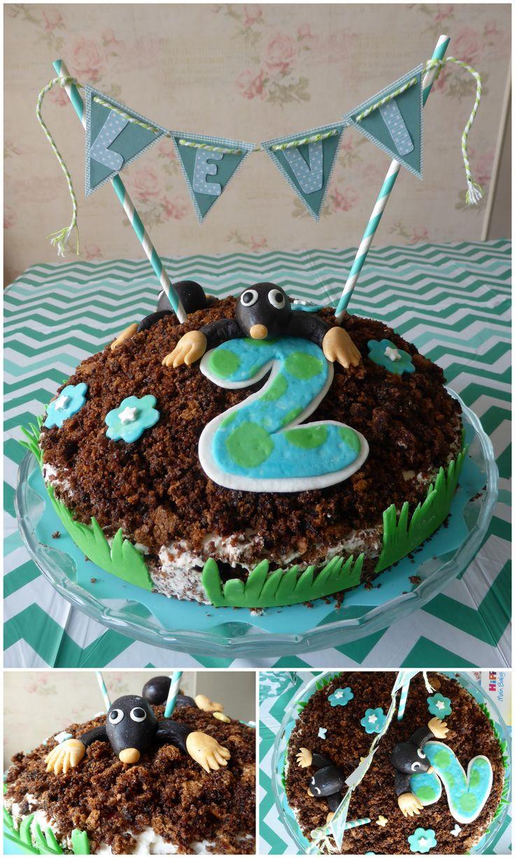 *Geburtstagstorte Der kleine Maulwurf*