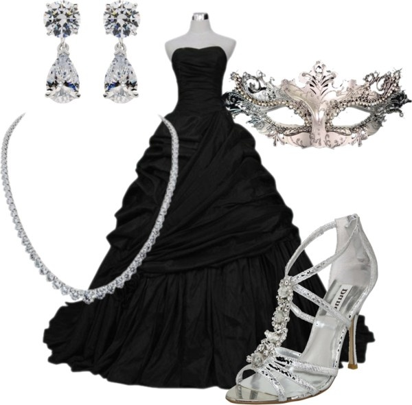 Masquerade, created by cbear327 on Polyvore
