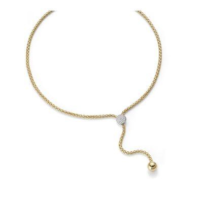 Fope Flex'it Halskette | 650-PAVE-420_GG