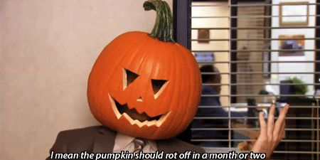 "When Dwight was a jack-o'-lantern | 16 Times ""The Office"" Was The Best At Halloween"