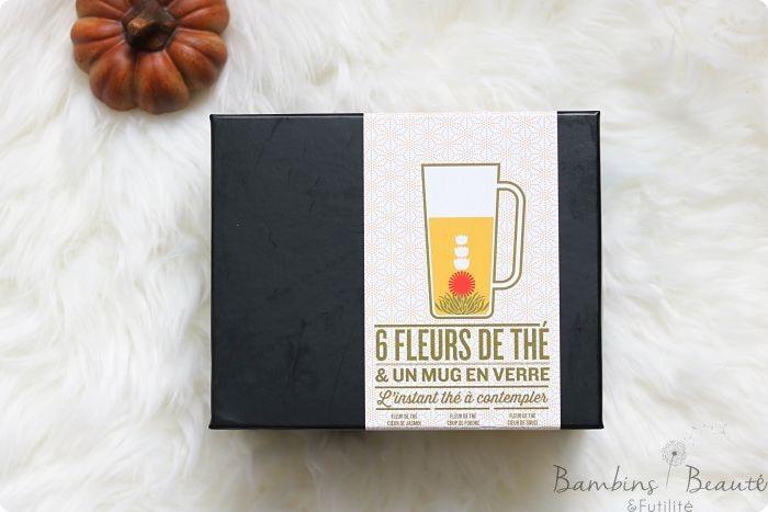 Nature & Découverte nous propose une pause thé spectaculaire avec son coffret dégustation 6 fleurs de thé et son mug en verre !