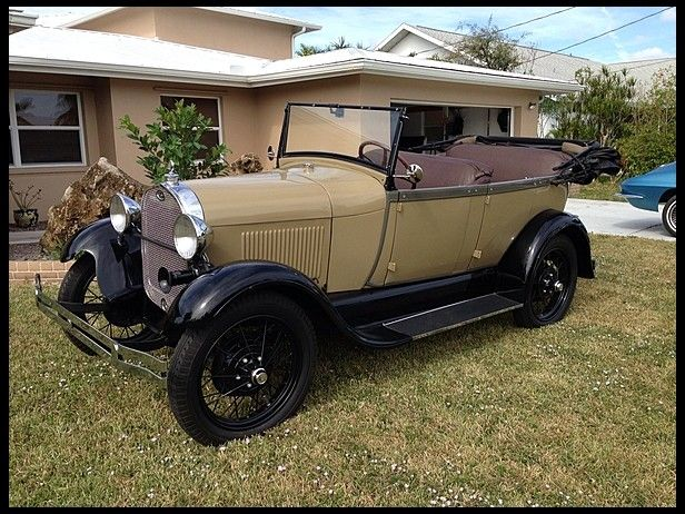 1928 Ford Model A Phaeton for sale by Mecum Auction · Old FordsFord ... & 308 best Old Fords images on Pinterest   Vintage cars Old cars ... markmcfarlin.com