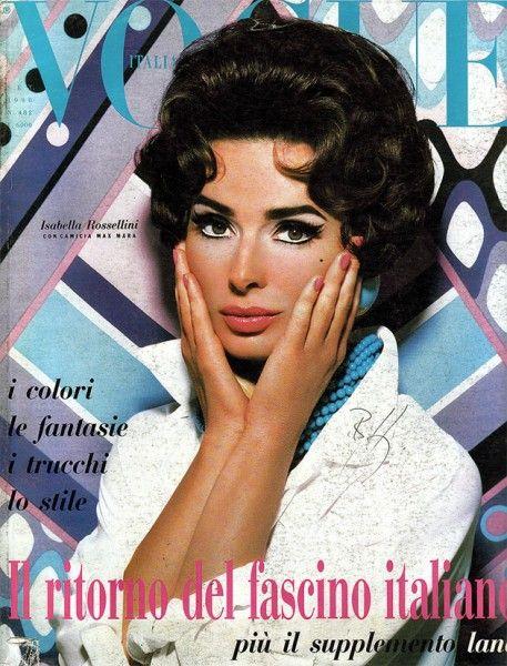 E em 1990! Um símbolo da beleza italiana