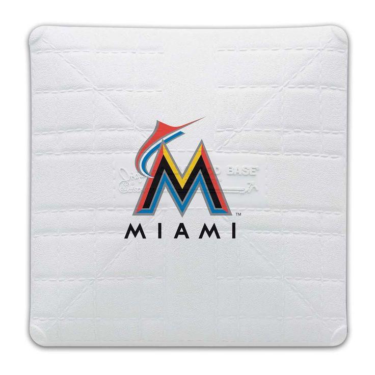Miami Marlins Licensed Jack Corbett Base from Schutt