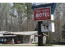 The Amicalola Lodge Or Grey Squirrel Motel As It Is Known In Film Was