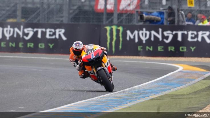 Casey Stoner, Repsol Honda Team, Le Mans FP2