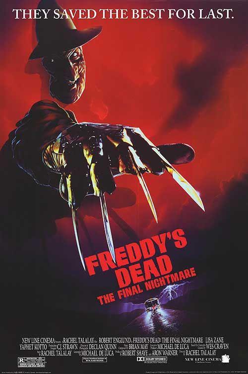 Freddys Dead movie poster