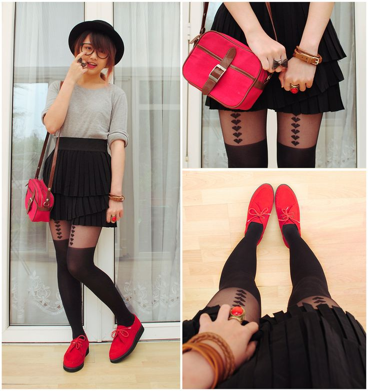 What a cute look… love the shoes.