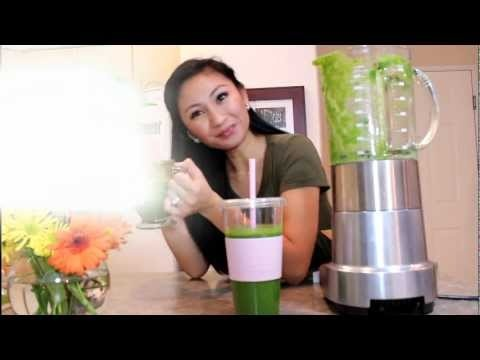 Glowing Green Smoothie for Glowing Clear Skin and Shiny Hair (Beauty Detox Solution) http://www.youtube.com/aprilathena7