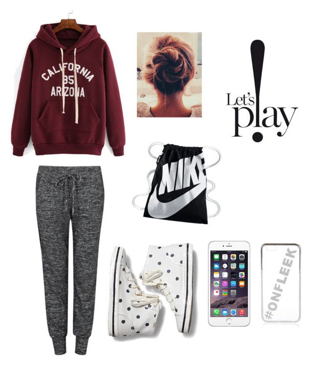 """""""let's p!ay"""" by gueritalinda on Polyvore featuring Velvet by Graham & Spencer, Keds, NIKE and River Island"""