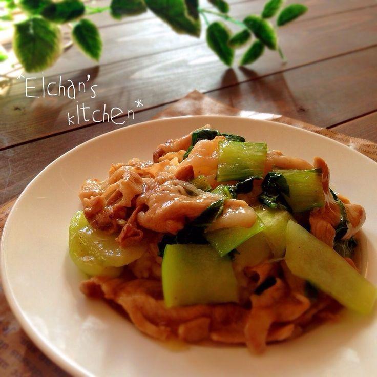 ✿豚肉とチンゲン菜のあんかけご飯✿ by ぇぃchan。 [クックパッド] 簡単おいしいみんなのレシピが219万品