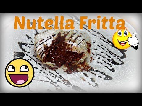 GELATO FRITTO??NUTELLA FRITTA??? - YouTube