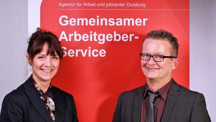 jobcenter und Arbeitsagentur in Duisburg fördern Menschen mit Handicap