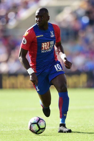 Yannick Bolasie of Crystal Palace in action during the Premier League match…
