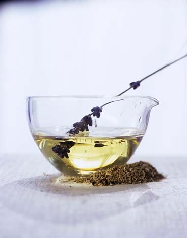 lavender+oil...soothe your aching muscles