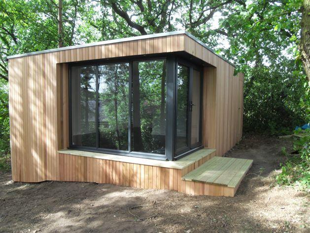 1000 images about sheds greenhouses garages garden for Pre built garden rooms