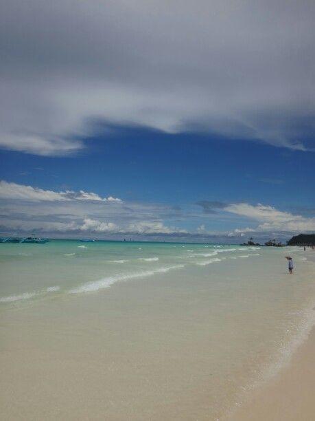 Boracay Island, Phillippines in Malay, Aklan