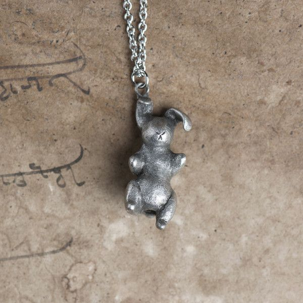 Le Real Velveteen Rabbit Totem Necklace