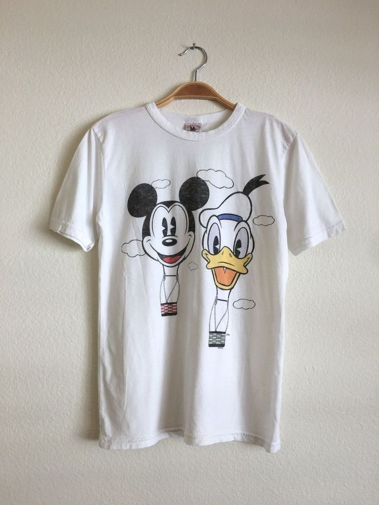 JUNK FOOD Clothing x Beams Women's S/S Disney Donald Mickey Tee Shirt XS $65 #JunkFood #Tee #Casual
