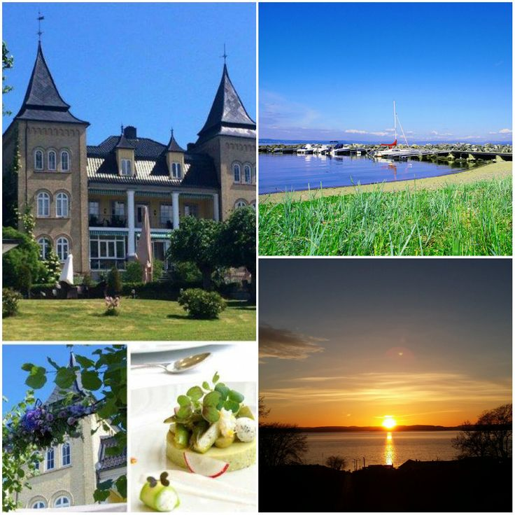 Summer at Hotell Refsnes Gods in Norway. We are known for our winecellar, wine, history, art and food!