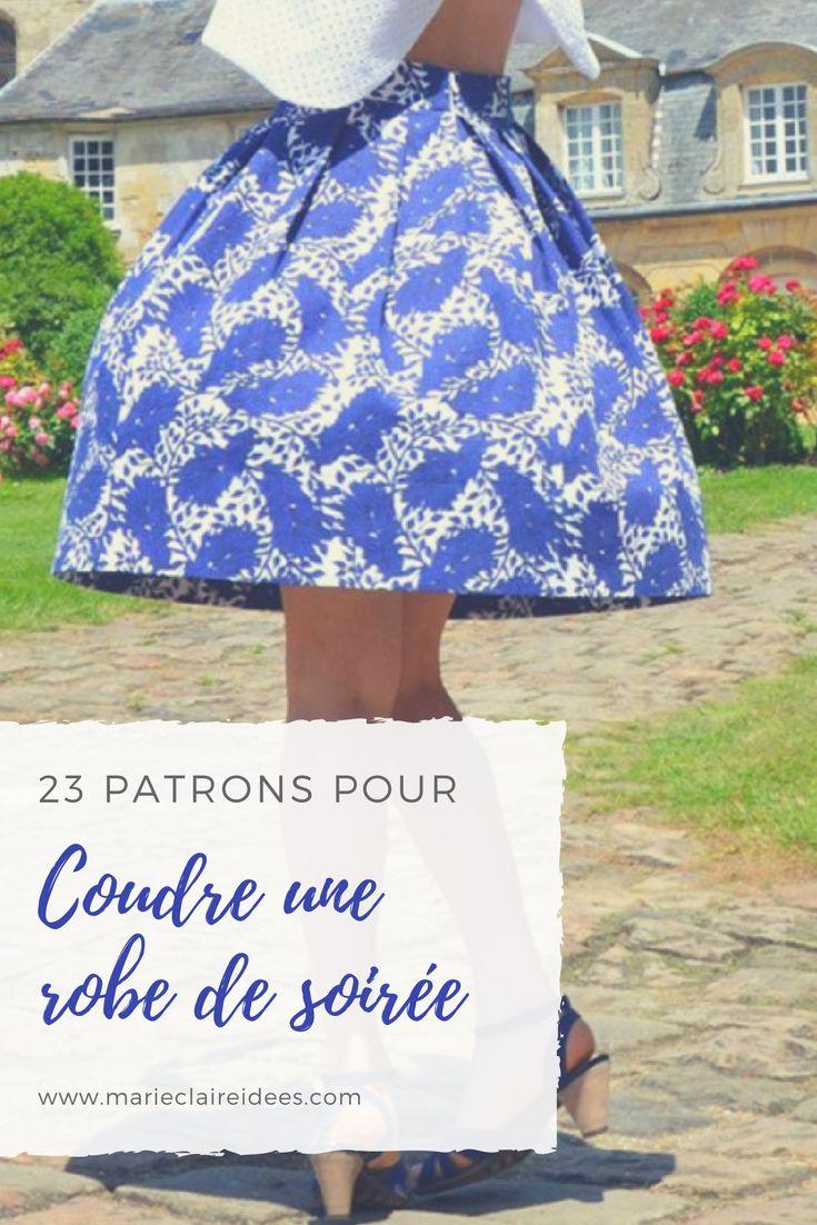 23 patrons pour coudre une robe de soirée / diy mode / patrons de couture