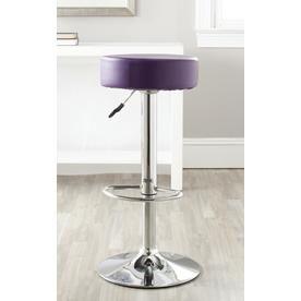 Safavieh Jude Modern Purple Bar Stool Fox7514d