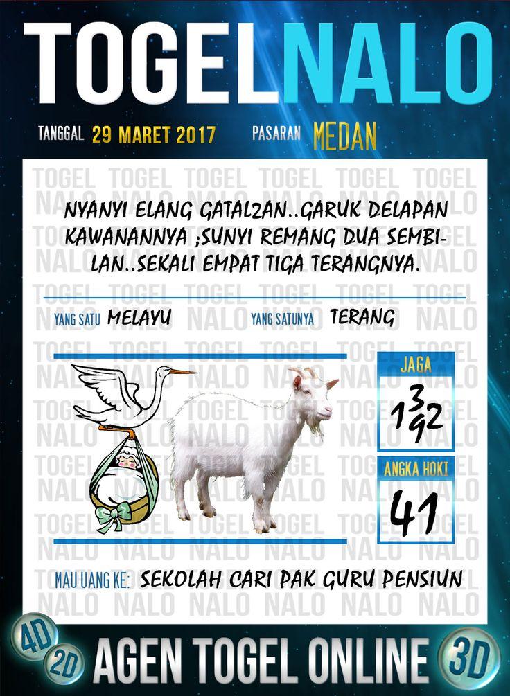 Kode Jitu 6D Togel Wap Online TogelNalo Medan 29 Maret 2017