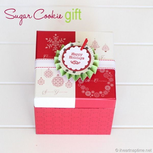 Sugar cookie kit as a giftCookies Mixed, Sugar Cookies, Iheartnaptime Com, Cookies Gift, Gift Ideas, Cookies Kits, Handmade Christmas Gifts, Heart Naptime, Cookies Boxes