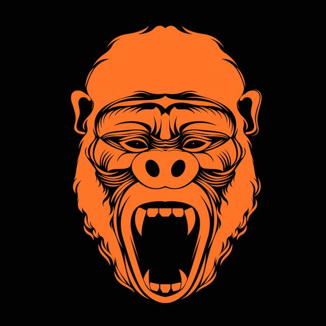 Monkey Face Vector Art For Design Clothing Cloth Chimpanzee Monkey Png And Vector With Transparent Background For Free Download Monkey Illustration Vector Art Face Illustration