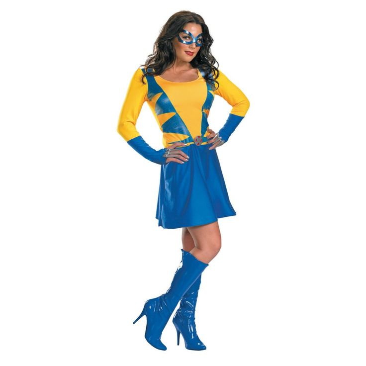 Classic Wolverine Halloween Costume for Women - Large