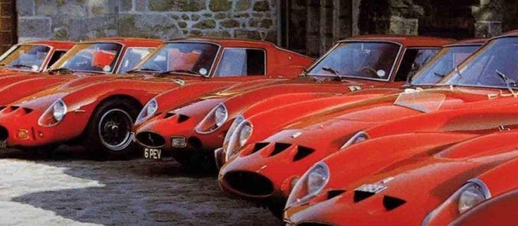 Ferrari tijdens de 20-jarige viering van de 250 GTO