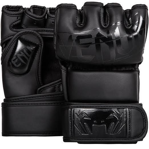 Venum Undisputed 2.0 MMA Gloves - Skintex Leather - Matte/Black - 13