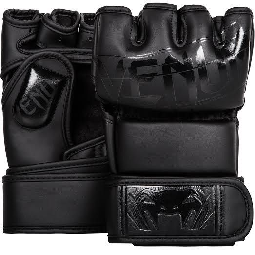 Venum Undisputed 2.0 MMA Gloves - Skintex Leather - Matte/Black - 13