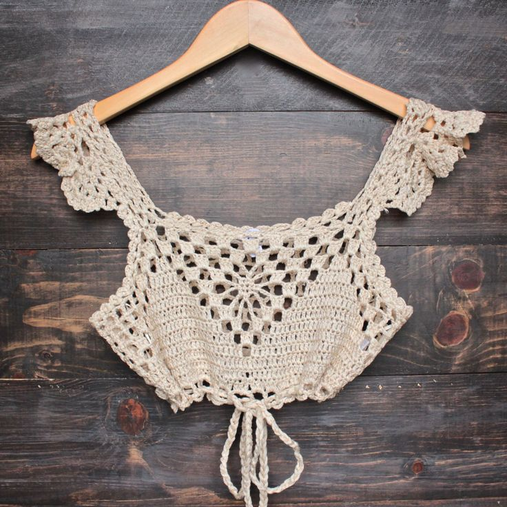 That would make a cute tank top if i add some more lace to the bottom. More