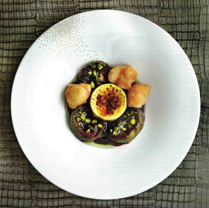 Delicious port-roasted figs, courtesy of Phil Howard's dessert bible, 'Sweet'.    http://www.bodosperlein.com/shop/?page_id=4_pid=120  https://www.facebook.com/bodosperleinlondon