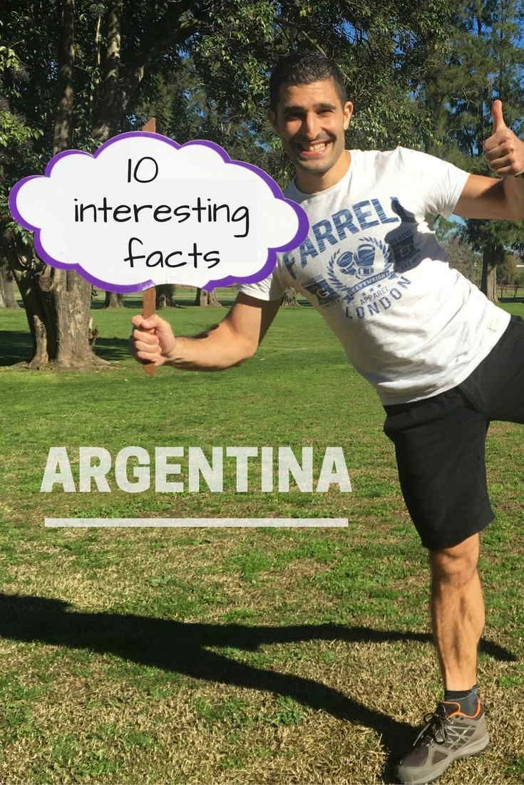 10 interesting facts about argentina pinterest