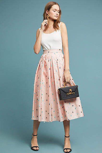 5d40425d0 Eva Franco Esplanade Skirt in 2019 | Professional | Vestidos, Conjuntos