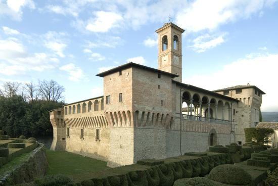 Castello Bufalini, San Giustino Valdarno #Arezzo #Italy #Castle