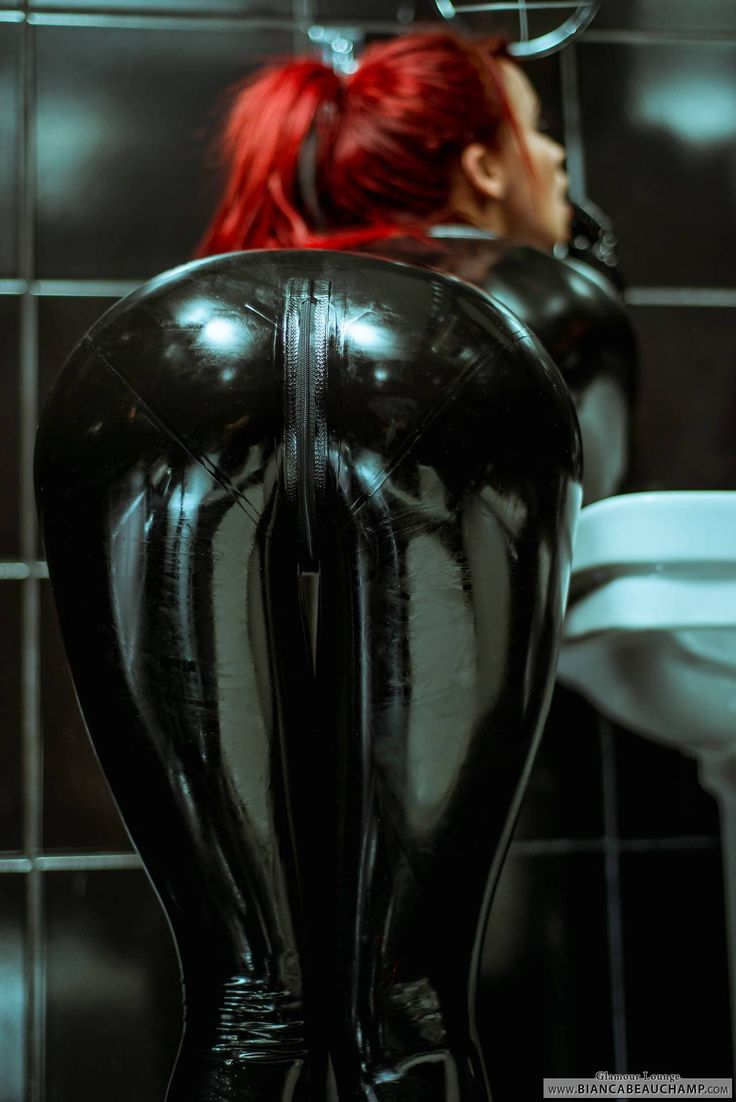 Girl in catsuit fuck a man 8
