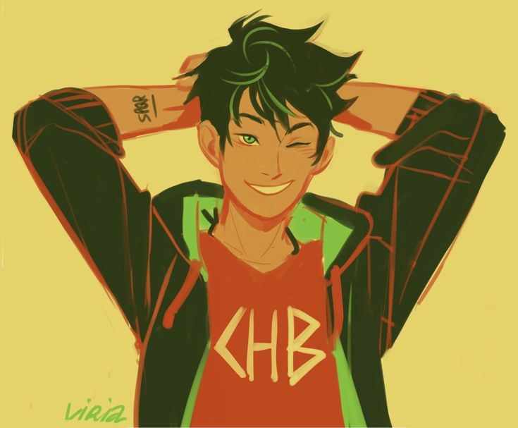 Another Viria Percy Jackson drawing. I love this one