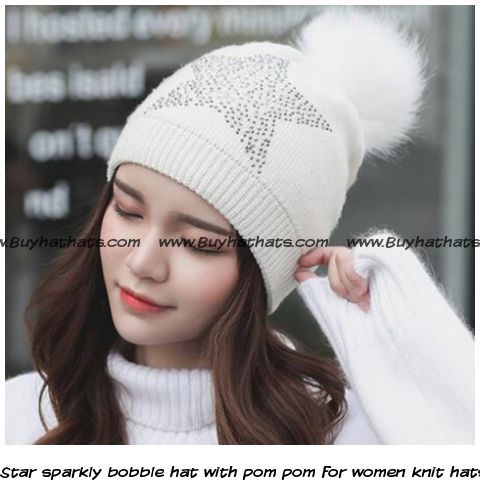 6b23dd0b6be Pin by BUYHATHATS LIMITED on Winter warm knitted booble hat for women