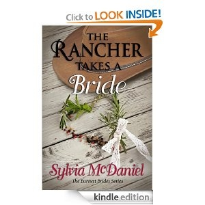 The Rancher Takes A Bride (The Burnett Brides Book 1) [Kindle Edition] REVIEW