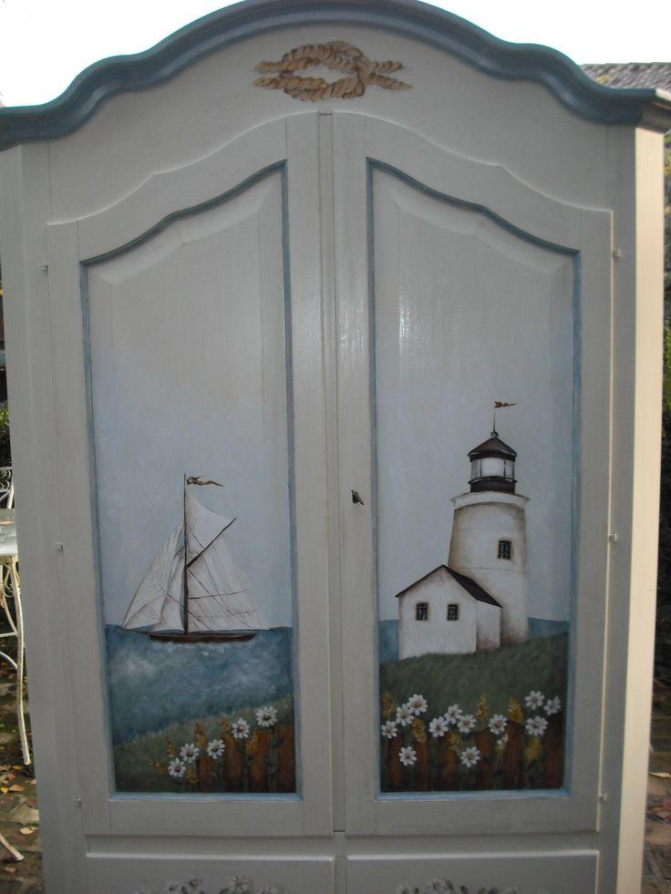 armadio casa al mare