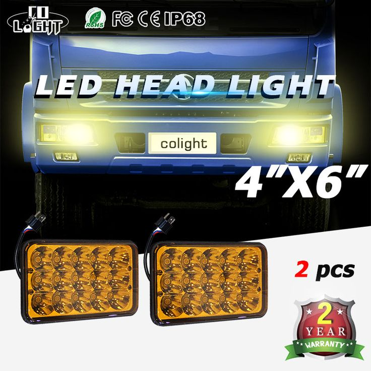 Co Light 45w 4x6'' Fog Lamp H4 With High Low Beam Dc 12v 24v Led Headlight Bulb For Off Road 4x4 Daf/foden/freightliner/gmc  http://www.stormzstore.com/co-light-45w-4x6-fog-lamp-h4-with-high-low-beam-dc-12v-24v-led-headlight-bulb-for-off-road-4x4-daffodenfreightlinergmc/
