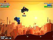 Diesel and Death Flash Game. Race bikes across junkyard. Past the flags to win or destroy enemy bike for victory. Play Free Fun Bike Games Online.