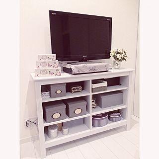 テレビ台はニトリ×寝室のテレビのインテリア実例   RoomClip (ルーム ... ... テレビ台はニトリの人気の写真(RoomNo.1664556) ...