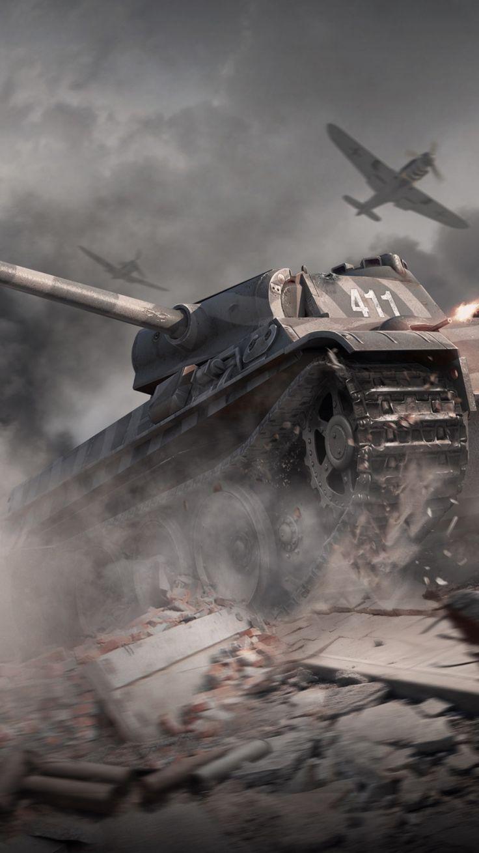 Panther World of Tanks (750 x 1334) - Wallpaper