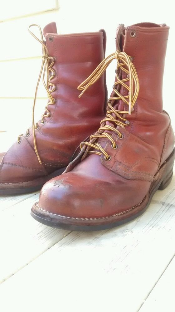 Wesco Boots Size 11D Steel Toe Logger And