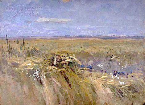 Jan Stanislawski, a field of corn on ArtStack #jan-stanislawski #art