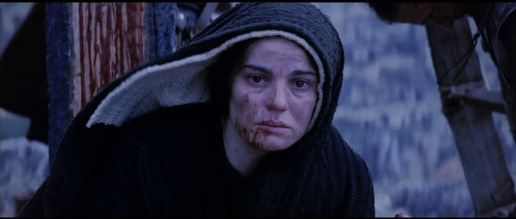 Maia Morgenstern (The Passion of the Christ) She portrayed Mary so perfectly. ♥♥♥